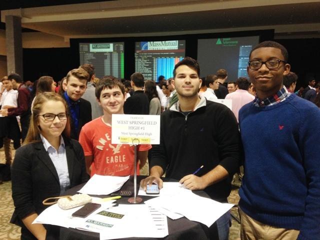 Business Club goes to the stock market challenege
