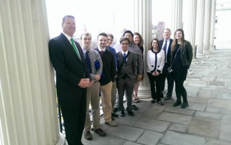 Democrats Club visits statehouse