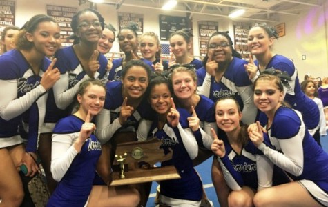 Cheer team wins regionals and advances to state finals
