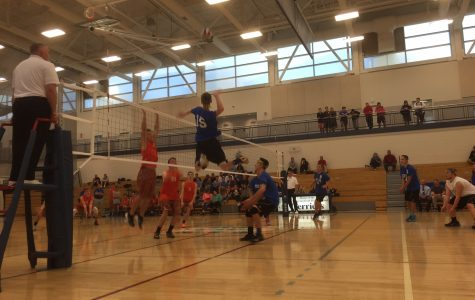 Boys volleyball hosts charity game for Autism research