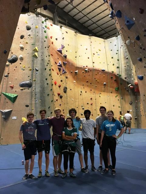 Rock Climbing Club strengthens body and mind