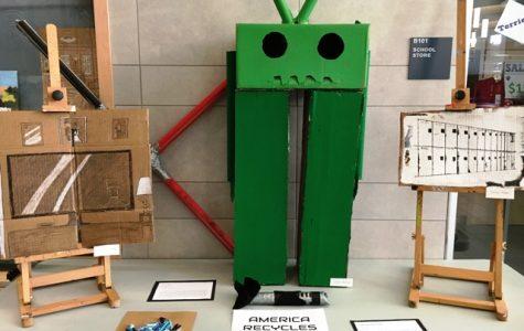 Students transform trash into art