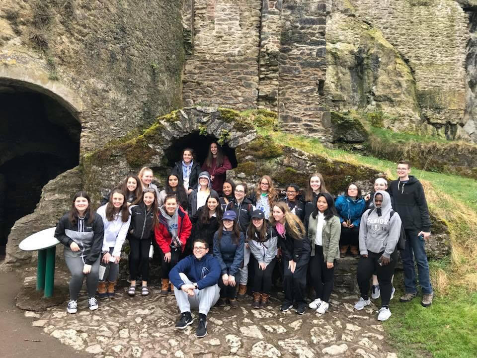 The Irish Club at Blarney Castle.