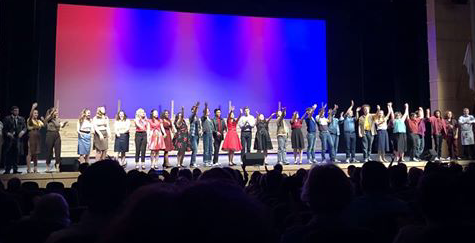 Senior Drama Club Members Take a Final Bow at West Side Story