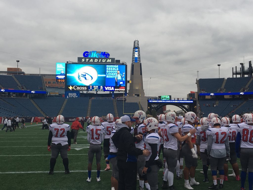 Football made it to the State finals at Gillette.
