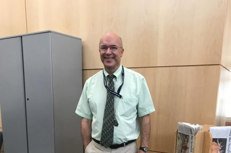Mr. Kemp is retiring after 30 years of service. Picture of him smiling above.