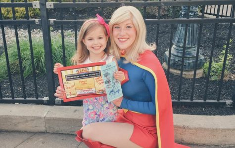 Supergirl Meets Little Supergirl