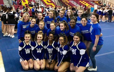 Cheerleaders Reach New Heights