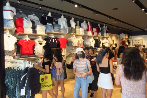 The 18 Brandy Melville stores in the US sell clothes that are very popular among those who can fit into it.