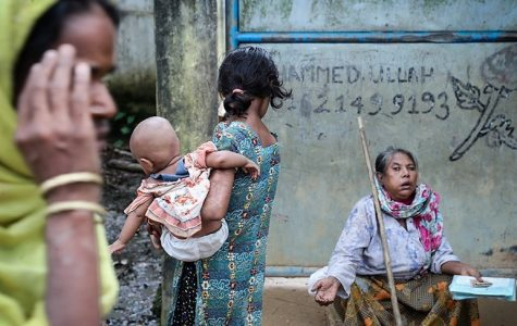 The United States closed its borders to Muslims fleeing genocide in Rohingya, as seen in the picture, as well as a multitude of other countries around the world.