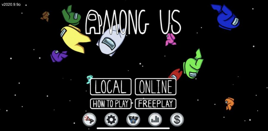 Among Us, a space-themed multiplayer game growing in popularity worldwide